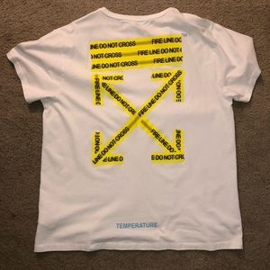 Off-White Caution Tape T-Shirt